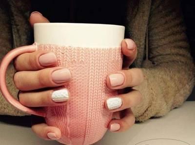 """""""Вязаные"""" ногти - зимний тренд в маникюре"""