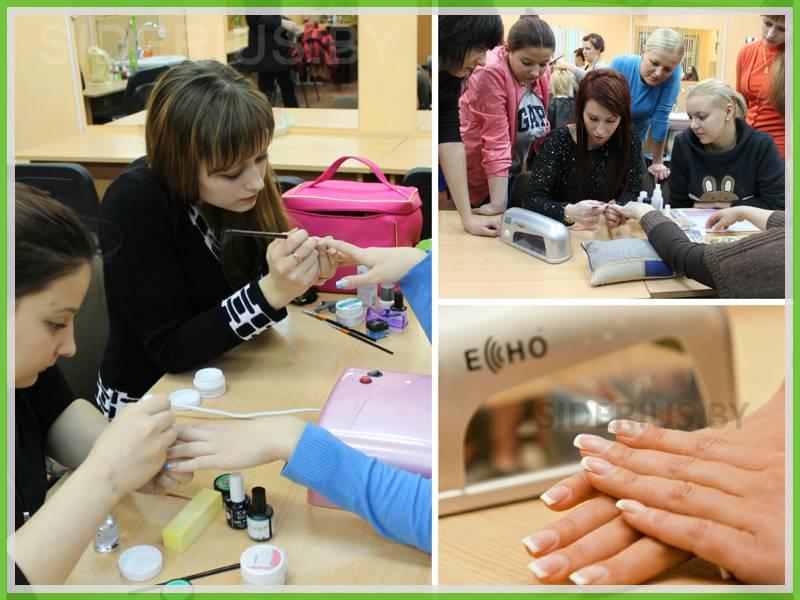 наращивания ногтей обучение минск